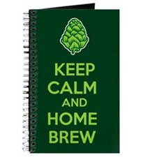 Keep Calm and Home Brew Journal