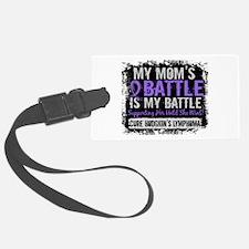 My Battle Too 2 H Lymphoma Luggage Tag