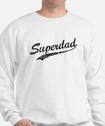 Vintage Super Dad Sweatshirt