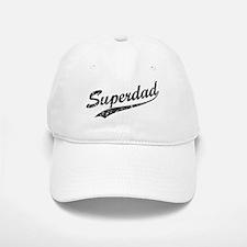 Vintage Super Dad Baseball Baseball Cap