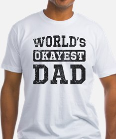 Vintage World's Okayest Dad Shirt