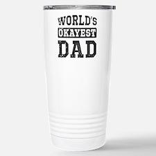 Vintage World's Okayest Dad Travel Mug