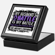My Battle Too 2 H Lymphoma Keepsake Box