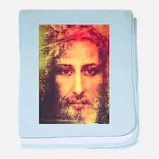 Image of Christ baby blanket