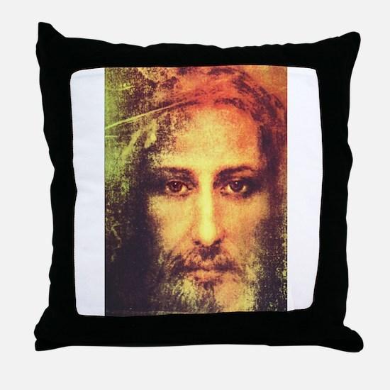 Image of Christ Throw Pillow