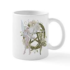 Wiccan Pentacle Beautiful Fairy Mug