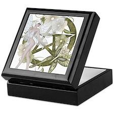 Wiccan Pentacle Beautiful Fairy Keepsake Box