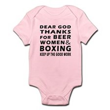Beer Women And Boxing Infant Bodysuit