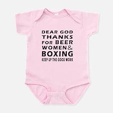 Beer Women And Boxing Onesie