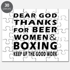 Beer Women And Boxing Puzzle