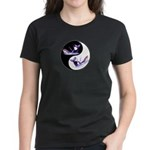 Yin Yang Dolphins Women's Dark T-Shirt
