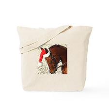 Holiday Horse Tote Bag