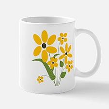 Yellow Summer Flowers Mug