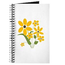 Yellow Summer Flowers - Journal