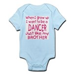 Dance just like Brother Infant Bodysuit