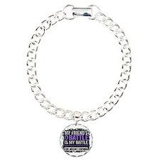 My Battle Too 2 H Lymphoma Bracelet