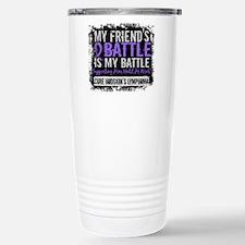 My Battle Too 2 H Lymphoma Travel Mug