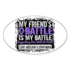 My Battle Too 2 H Lymphoma Decal