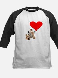 i love giraffe Baseball Jersey