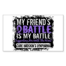 My Battle Too 2 H Lymphoma Decal