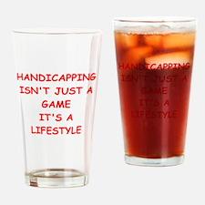 HORSERACING Drinking Glass