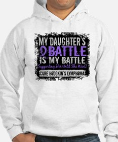 My Battle Too 2 H Lymphoma Hoodie