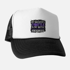 My Battle Too 2 H Lymphoma Trucker Hat