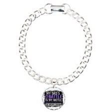 My Battle Too 2 H Lymphoma Bracelet