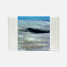 Cloud 0665 Rectangle Magnet