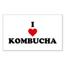 I Love Kombucha Decal