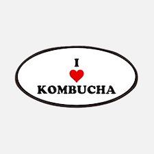 I Love Kombucha Patches