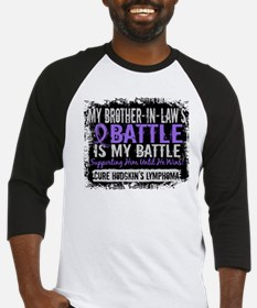 My Battle Too 2 H Lymphoma Baseball Jersey