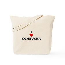 I Love Kombucha Tote Bag