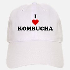 I Love Kombucha Baseball Baseball Baseball Cap