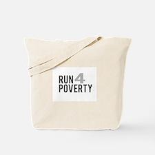Run4Poverty Tote Bag