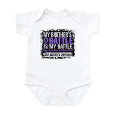 My Battle Too 2 H Lymphoma Infant Bodysuit