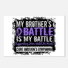 My Battle Too 2 H Lymphoma Postcards (Package of 8