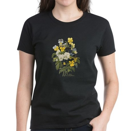 Pansy Women's Dark T-Shirt