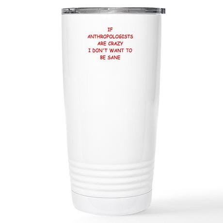 anthropology Travel Mug