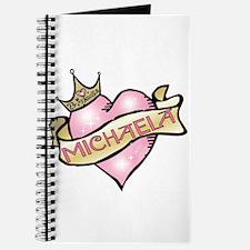 Sweetheart Michaela Custom Princess Journal