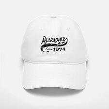 Awesome Since 1974 Baseball Baseball Cap