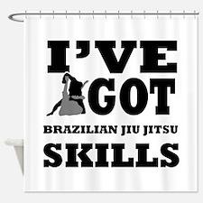 Brazilian Jiu Jitsu martial arts designs Shower Cu