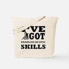 Brazilian Jiu Jitsu martial arts designs Tote Bag