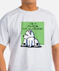 Cool Belly Westie T-Shirt