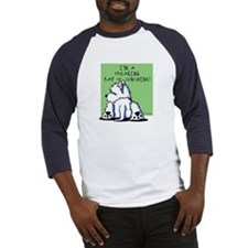 Cool Belly Westie Baseball Jersey
