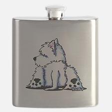 Cool Belly Westie Flask