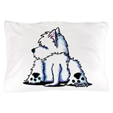Cool Belly Westie Pillow Case