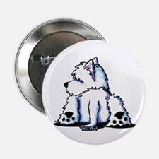 "Cool Belly Westie 2.25"" Button"