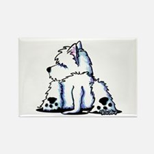 Cool Belly Westie Rectangle Magnet (100 pack)
