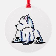 Cool Belly Westie Ornament
